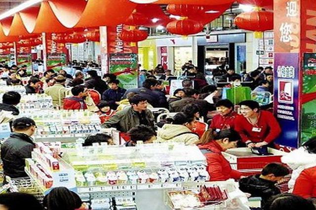 天津消费市场火爆 169家企业3天揽金6.7亿元