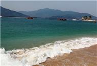 碧海蓝天 纯净的分界洲岛