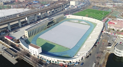 天津市河北区体育中心投用