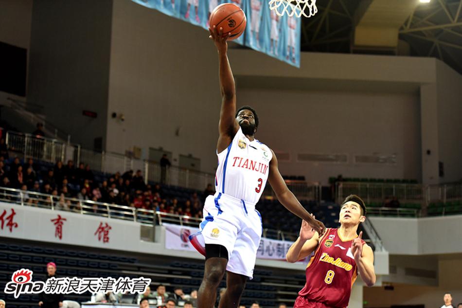 CBA-杰特37分难救主 天津男篮88-94负于浙江男篮