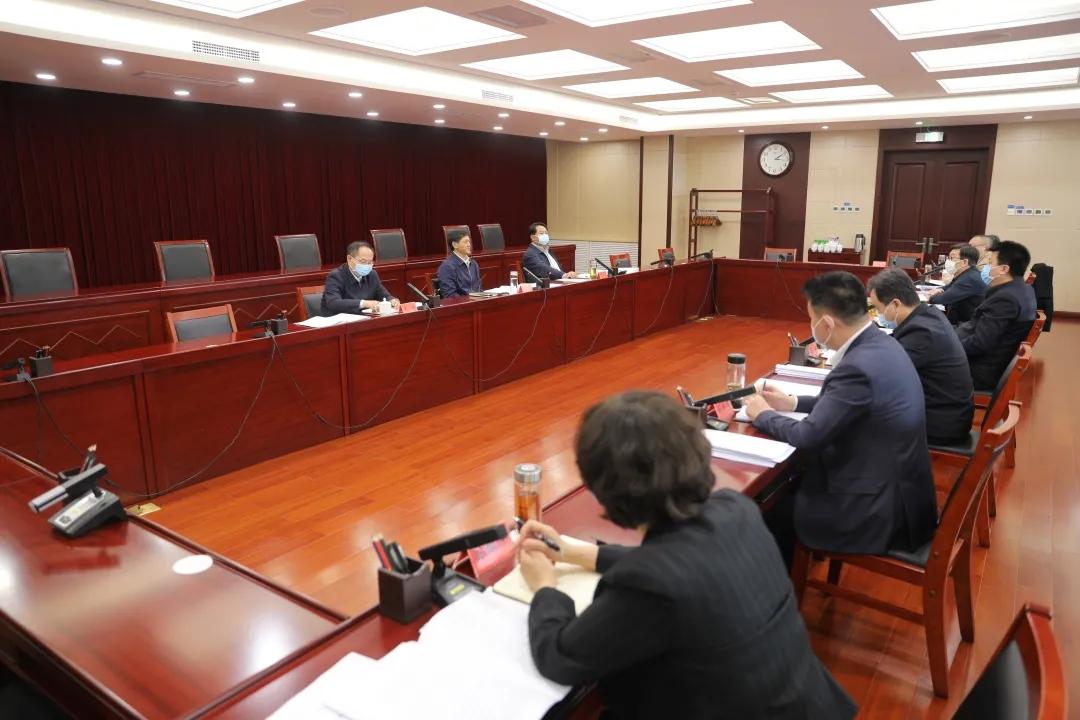 天津市政法队伍教育整顿领导小组召开会议