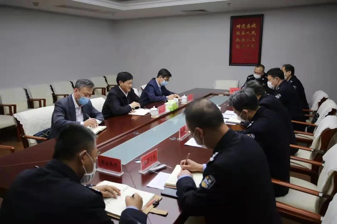 赵飞到基层公安机关调研督导推动政法队伍教育整顿工作