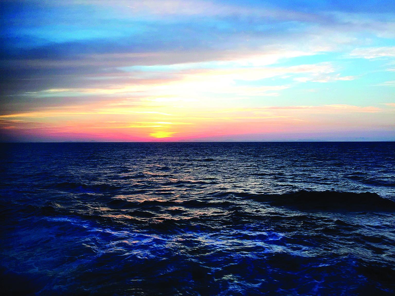 摄影作品:落日余晖