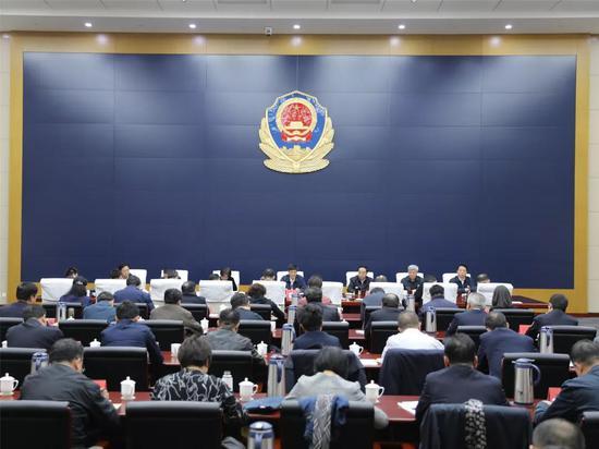 市扫黑除恶专项斗争领导小组第三次全体(扩大)会议