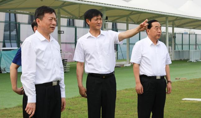 赵飞:以一流的安保工作 确保全运会成功举办