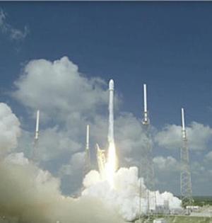这次回收失败!SpaceX着陆起大火