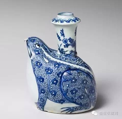 大都会博物馆里收藏的中国明代青花瓷器