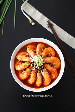 超级解馋菜香辣跳水虾