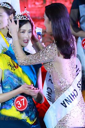 这个姑娘成为新一届中国小姐