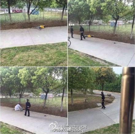 南京航空航天大学一名大二学生跳楼身亡(图)