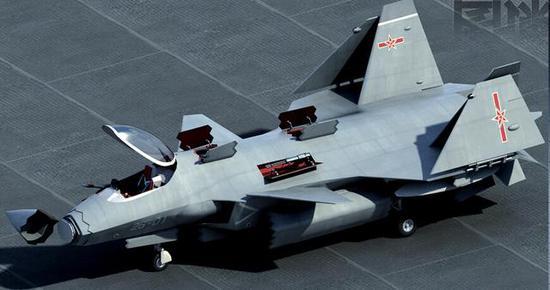 中国被指正研垂直起降战机 动力布局与美英俄全不同