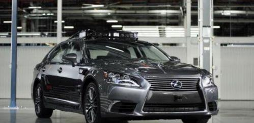 丰田自动驾驶车辆曝光 可360度实时扫描