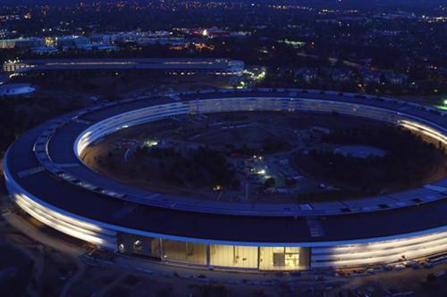 建设中的苹果新总部