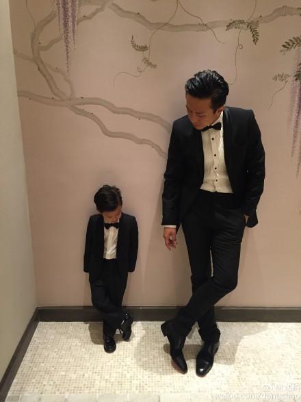 孙俪在微博中晒出的生日约会照片