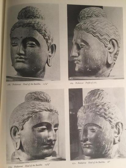 """受希腊影响,犍陀罗艺术有""""希腊式佛教艺术""""之称"""