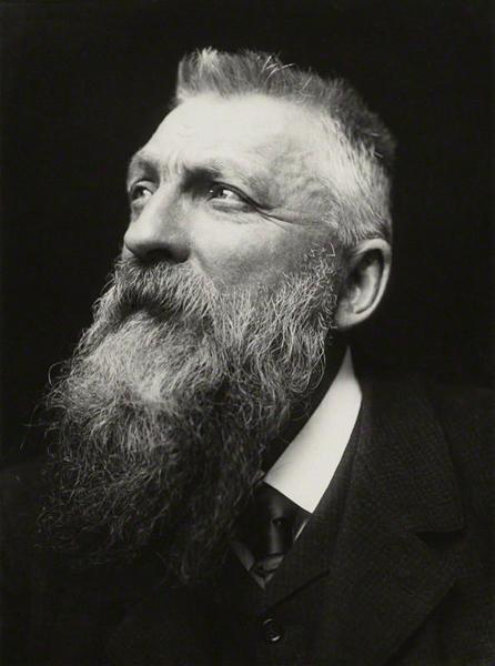 罗丹,1902(乔治•查尔斯•贝尔斯福德摄)