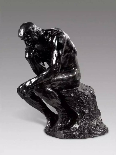 思想者,(The Thinker,1880—1900)