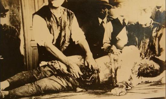 队惨无人道的用中国人进行活体解剖试验-档案揭秘 731部队至少生产