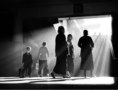 《午后闲聊》,1959年拍摄