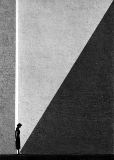 《靠近阴影》,1954年拍摄