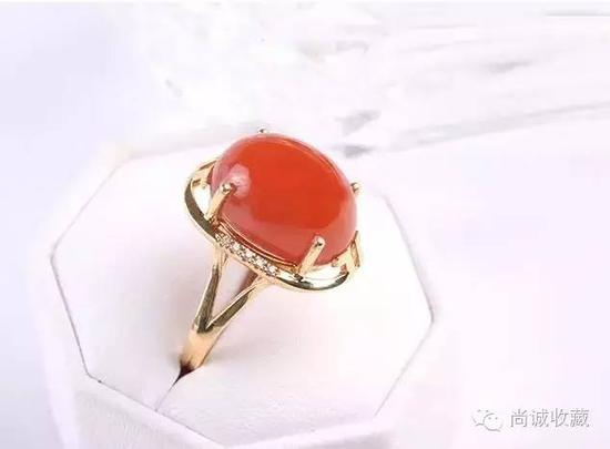 5种工艺制作美爆的南红玛瑙戒指 你见过吗