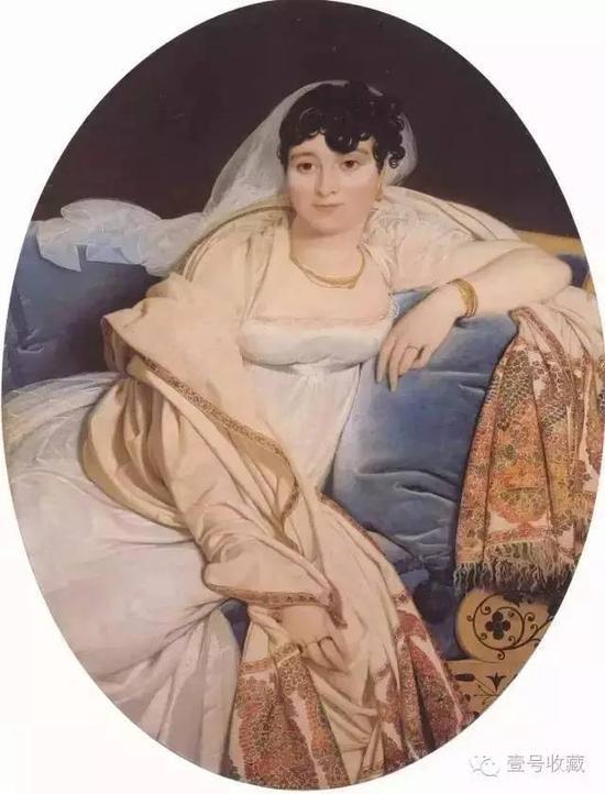 里维耶夫人肖像