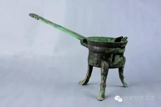 青铜三足鐎斗, 南京博物院藏