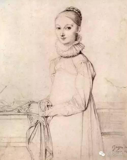女子肖像 1815