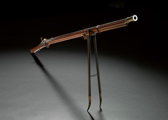 乾隆御制火枪 图片来自苏富比