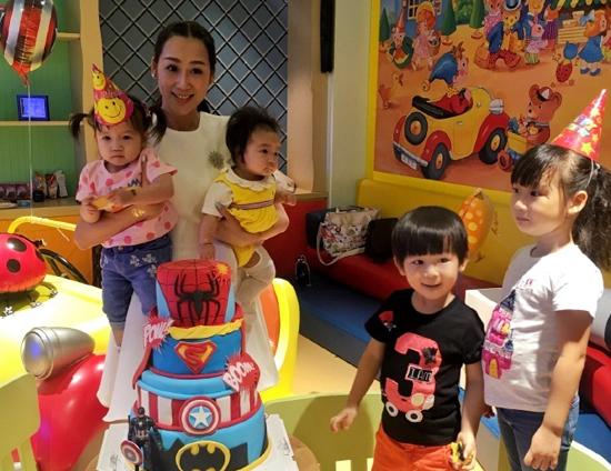 陈浩民妻子和儿女