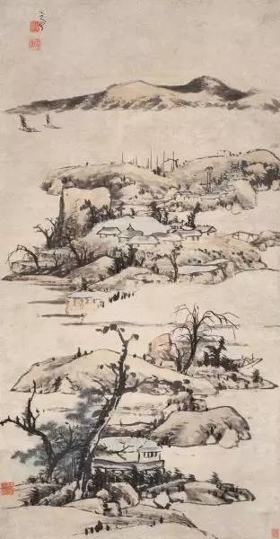 《仿倪云林山水》,2009年成交价8400万元