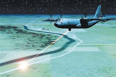 定向能武器要上天?美计划2021年战机装备激光武器