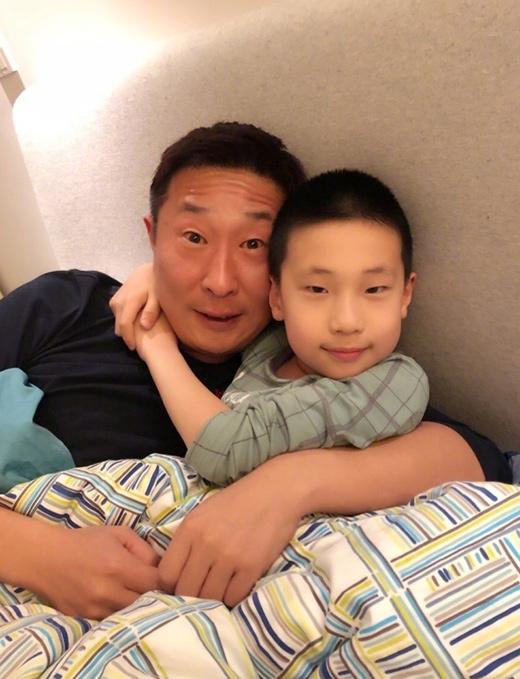 林永健和儿子
