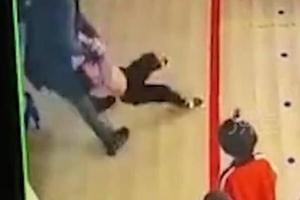 石家莊通報培訓學校老師過肩摔幼兒:停止辦學、正在調查