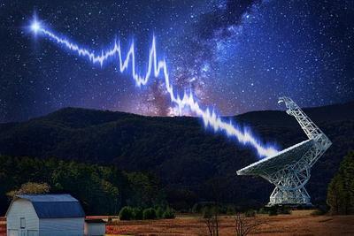 神秘快速射电暴或来自几十亿光年之外的黑洞或中子星