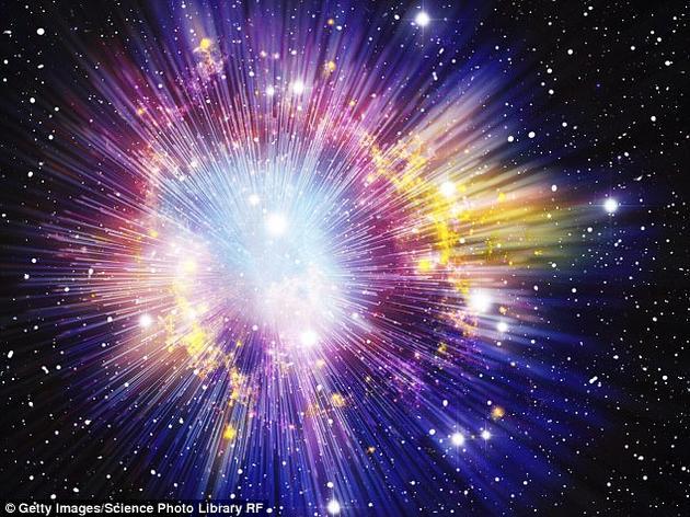 """宇宙也许并不是凭空出现的,而是在目前的膨胀期之前,还经历了一段收缩期。该假设源自""""宇宙大收缩论""""(Big Crunch),认为宇宙会自发性坍缩,使""""宇宙循环往复、永无止境。"""""""