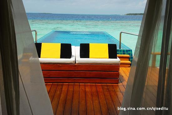 水清沙白马尔代夫水上屋|马尔代夫|水上|酒店