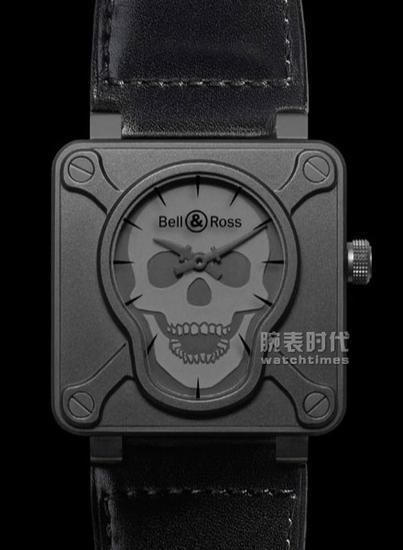 【新时尚】骷髅图案正流行 5款骷髅腕表