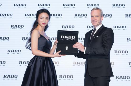 【新时尚】雷达表携汤唯发布依莎系列高科技陶瓷触感腕表