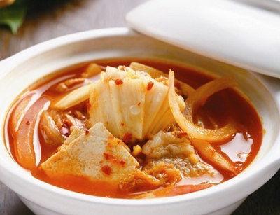 泡菜五花肉汤