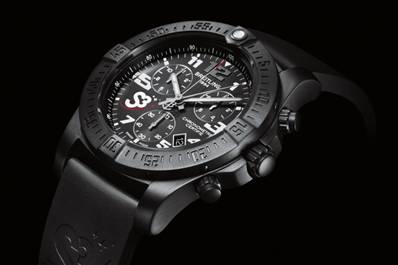 【新时尚】百年灵发布零重力飞行官方腕表