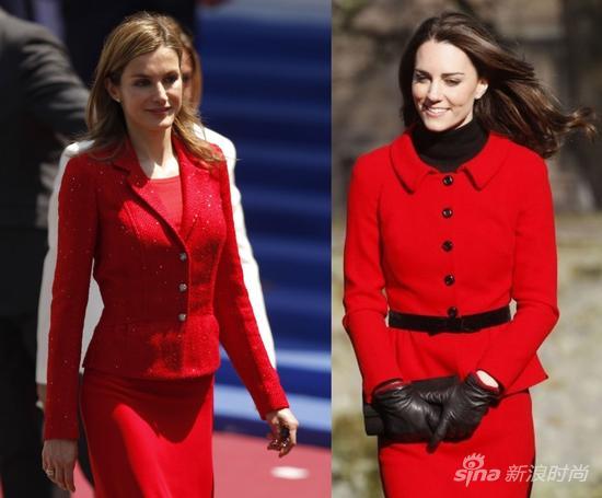西班牙准王后莱蒂齐亚:凯特王妃的时尚劲敌