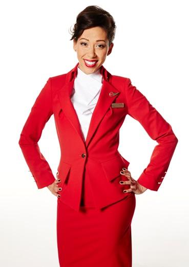 Vivienne Westwood为维珍航空设计新制服发布