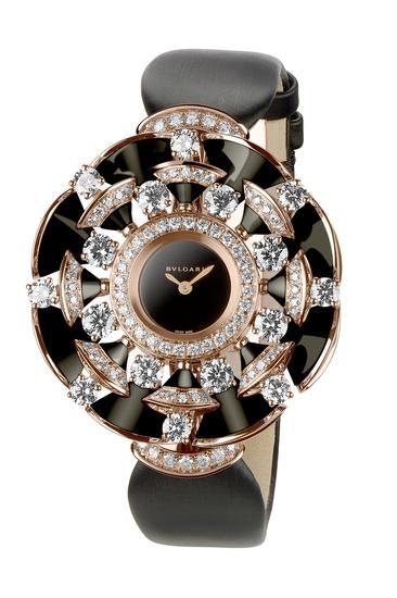 【新时尚】BVLGARI宝格丽全新DIVA系列珠宝腕表