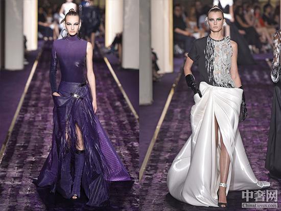范思哲(Atelier Versace):平胸摩登女的霸气