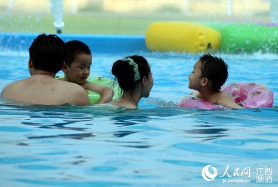 江西未来最高温将达39℃ 注意防暑降温