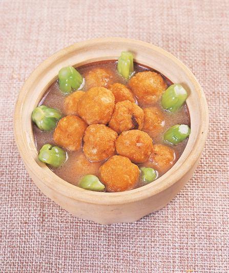普陀山斋菜:晨光佛珠