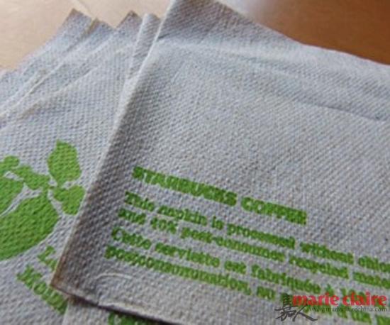 星巴克餐巾纸