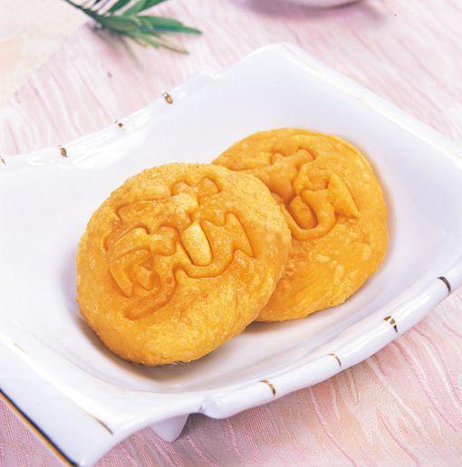 峨眉山斋菜:普贤万福饼