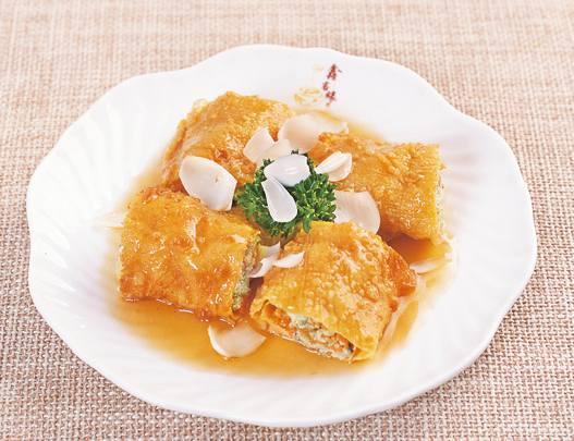 普陀山斋菜:百合素裹